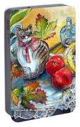 Apple Cat Portable Battery Charger