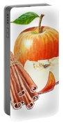 Apple Cinnamon Portable Battery Charger