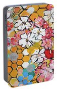 Apple Honeycomb Blossoms 201760 Portable Battery Charger