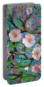 Apple Tree Blossom Portable Battery Charger