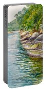 Apple Tree Creek At Bobbin Head Portable Battery Charger