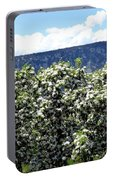 Apple Trees In Bloom     Portable Battery Charger