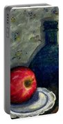 Apples And Bottles Portable Battery Charger
