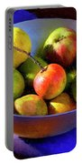 Apples And Pears Portable Battery Charger
