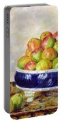 Apples In A Dish Portable Battery Charger