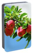 Apples On A Branch Portable Battery Charger