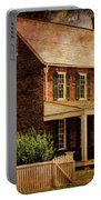 Appomattox Court House By Liane Wright Portable Battery Charger