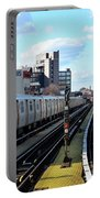 Approaching Myrtle Avenue Portable Battery Charger