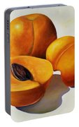 Apricots Portable Battery Charger by Shannon Grissom