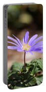 April Grecian Wind Flower  Portable Battery Charger