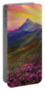 April Sunset Portable Battery Charger