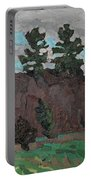 April White Pine Forest Portable Battery Charger
