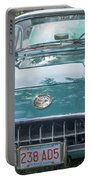 Aqua Blue 1959 Corvette  Portable Battery Charger