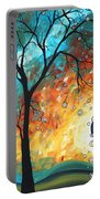 Aqua Burn By Madart Portable Battery Charger