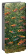 Aquarium Portable Battery Charger by James W Johnson