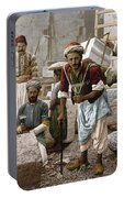 Arab Stonemasons, C1900 - To License For Professional Use Visit Granger.com Portable Battery Charger