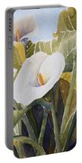Aram Lillies Portable Battery Charger