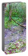 Arboretum Creek Painted Portable Battery Charger