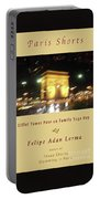 Arc De Triomphe By Bus Tour Cover Art Portable Battery Charger