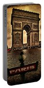 Arc De Triomphe Portable Battery Charger