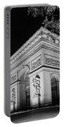 Arc De Triomphe Paris, France  Portable Battery Charger