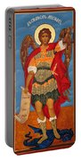 Arch Angel - St Michael Portable Battery Charger by Bill Cannon