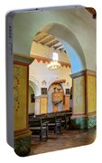 Arch In San Juan Bautista Mission Portable Battery Charger