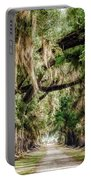 Arch Of Oaks - Evergreen Plantation Portable Battery Charger