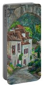 Arch Of Saint-cirq-lapopie Portable Battery Charger