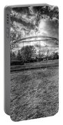 Arch Swing Set In The Park 76 In Black And White Portable Battery Charger