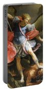 Archangel Michael Defeating Satan Portable Battery Charger