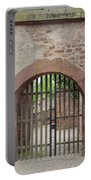 Arched Gate At Heidelberg Castle Portable Battery Charger