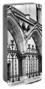 Arches Front Of The Royal Courts Of Justice London Portable Battery Charger