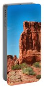 Arches National Park From A Utah Highway Portable Battery Charger