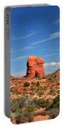 Arches National Park - Hoodoos Carved In Entrada Sandstone Portable Battery Charger