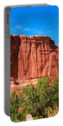 Arches National Park, Utah Usa - Tower Of Babel, Courthouse Tower Portable Battery Charger