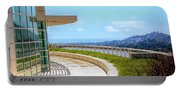 Architecture J. Paul Getty Museum California  Portable Battery Charger