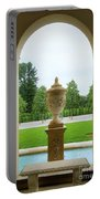 Archway Window To The Garden Portable Battery Charger