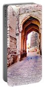 Archways Ornate Palace Mehrangarh Fort India Rajasthan 1a Portable Battery Charger