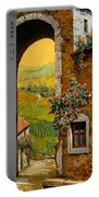 Arco Di Paese Portable Battery Charger by Guido Borelli