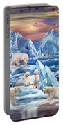 Arctic Bears Coming Portable Battery Charger