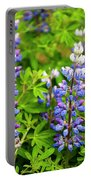 Arctic Lupine Portable Battery Charger