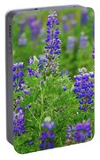 Arctic Lupine Lupinus Ancticus Portable Battery Charger