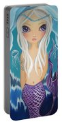 Arctic Mermaid Portable Battery Charger