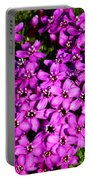 Arctic Wild Flowers Portable Battery Charger
