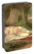 Ariadne Asleep On The Island Of Naxos Portable Battery Charger