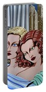 Arielle And Gabrielle Portable Battery Charger by Tara Hutton