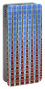 Arizona Saguaro Forest Abstract Portable Battery Charger