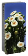 Arizona State Flower- The Saguaro Cactus Flower Portable Battery Charger