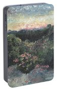 Arkansas Mountain Sunset Portable Battery Charger